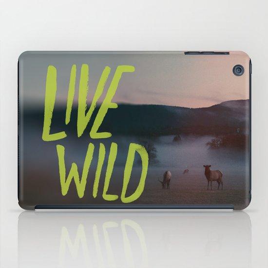 Live Wild iPad Case