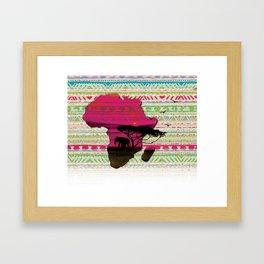 African Pride Framed Art Print