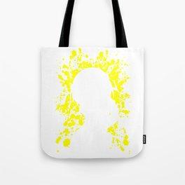 Anime Haurhi Paint Splatter Inspired Shirt Tote Bag