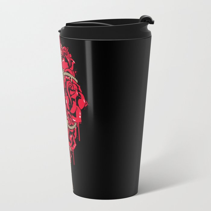 BOUND ROSES Travel Mug