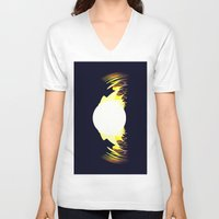 falcon V-neck T-shirts featuring falcon by donphil