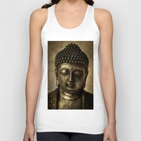 meditation Tank Tops featuring Meditation by inkedsandra