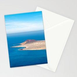 Dreamy island in the sea | La Graciosa from Mirador del Rio Lanzarote | Fine art travel photography| Stationery Cards