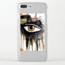 War Paint 1 Clear iPhone Case