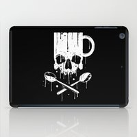pirates iPad Cases featuring Coffee Pirates by Roberlan Borges