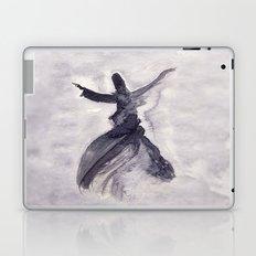 whirling dervish - sufi meditation - ink wash Laptop & iPad Skin