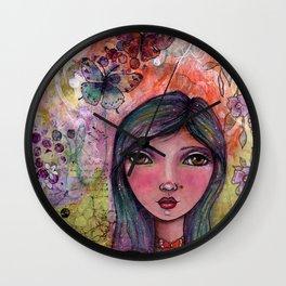 Addie Marie Wall Clock