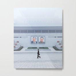 Pyongyang, North Korea Metal Print