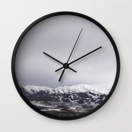 Winter Soulstice Wall Clock