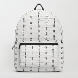 FRENCH LINEN STRIPE Backpack