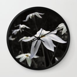 Star Flower 2 Wall Clock