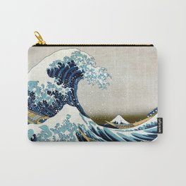 The great wave, famous Japanese artwork Carry-All Pouch