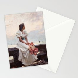 Summer dreams, by Henry Paul Perrault. Stationery Cards