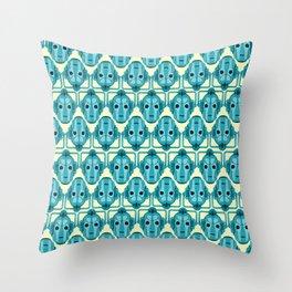 Doctor Who: Cybermen Pattern Throw Pillow