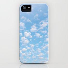 The bright blue sky in my backyard iPhone Case