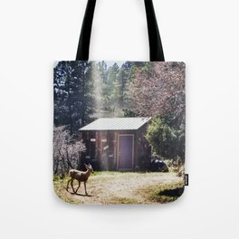 A Little Mountain Paradise Tote Bag