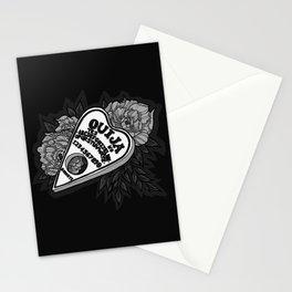 Ouija Planchette - Monochrome Stationery Cards