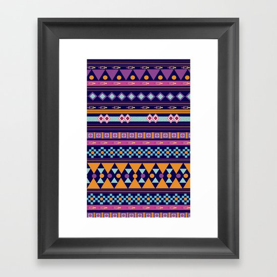 Native Conspiracy  Framed Art Print