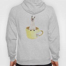 Llama in Cup Hoody