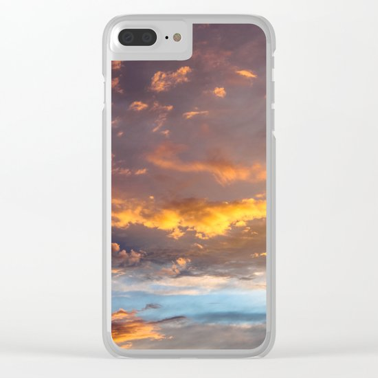 Heavenly Awakening Clear iPhone Case