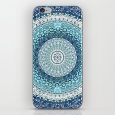 Teal Tapestry Mandala iPhone & iPod Skin