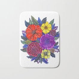 Floral Passion Bath Mat