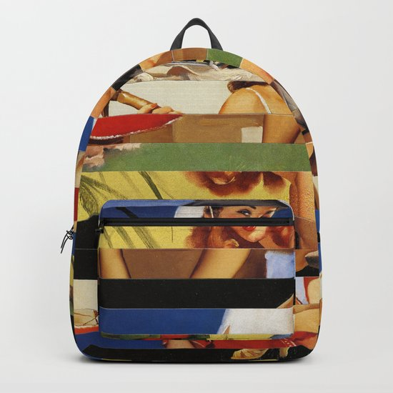 Glitch Pin-Up Redux: Jessica Backpack