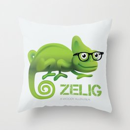Zelig - Alternative Movie Poster Throw Pillow