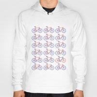 bikes Hoodies featuring Bikes  by Keep It Simple