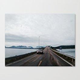 Road to Lofoten Canvas Print