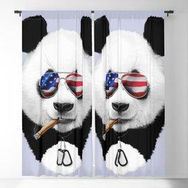 All American Panda Blackout Curtain