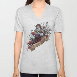 Queen of the Forsaken Unisex V-Neck