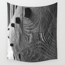 Covered Bridge Wooden Pegs Wall Tapestry