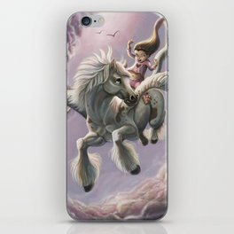 Valkyrie-in-training iPhone Skin