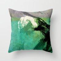 hulk Throw Pillows featuring Hulk by Fernando Vieira