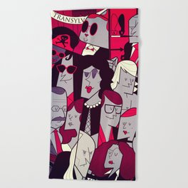 The Rocky Horror Picture Show Beach Towel
