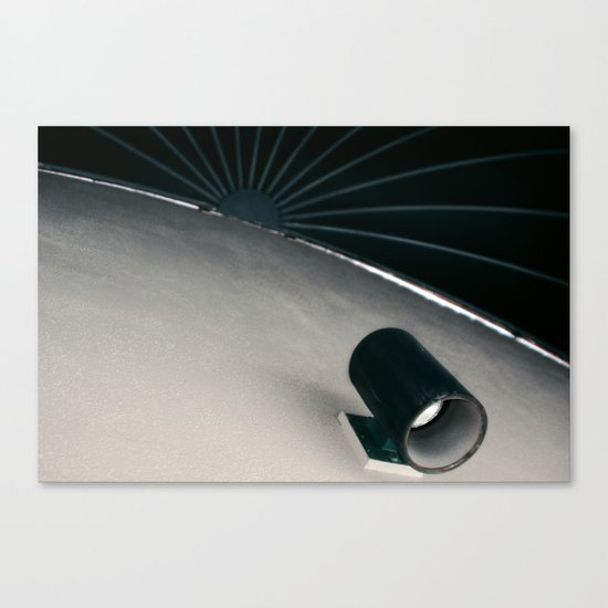 Night Time Sun Canvas Print