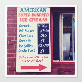 American Super whipped Canvas Print