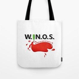 W.I.N.O.S. Tote Bag