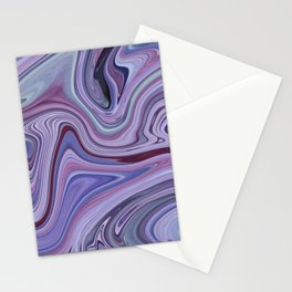 Purple in Pastel Stationery Cards