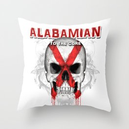 To The Core Collection: Alabama Throw Pillow