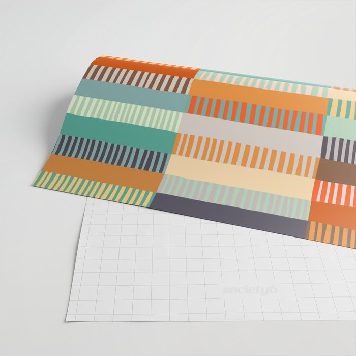 Fall Grandmother's Quilt Wrapping Paper