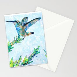 Hummingbird Lands-Barbara Chichester Stationery Cards