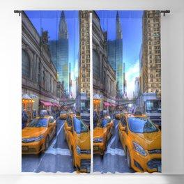 New York Street Scene Blackout Curtain