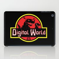 digimon iPad Cases featuring Digital World  by Jelly Soup Studios