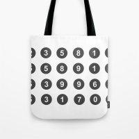 fibonacci Tote Bags featuring Fibonacci by nick inglis