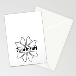 TwoFinFun Stationery Cards
