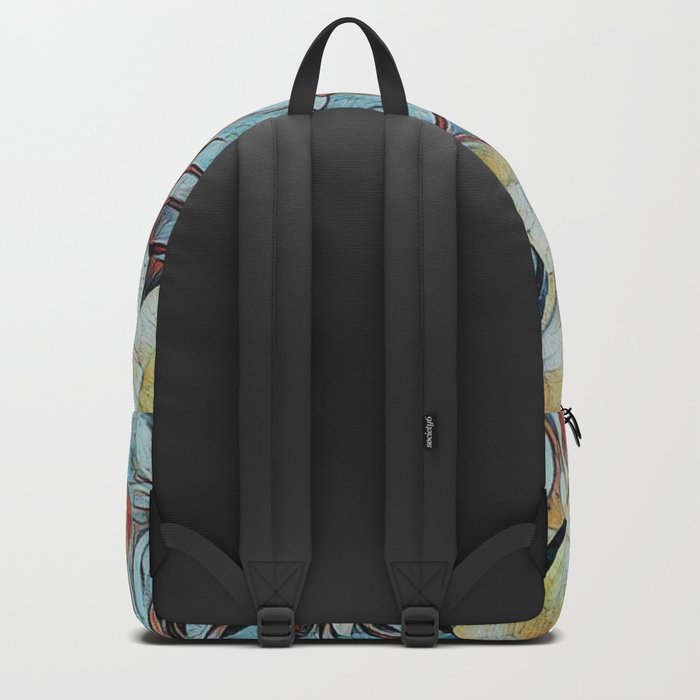 A Butterfly Abstract Backpack