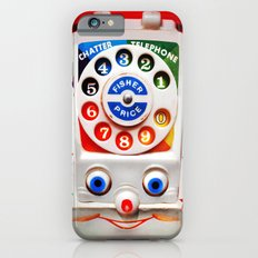 Retro Vintage smiley kids Toys Dial Phone iPhone 4 4s 5 5s 5c, ipod, ipad, pillow case and tshirt Slim Case iPhone 6