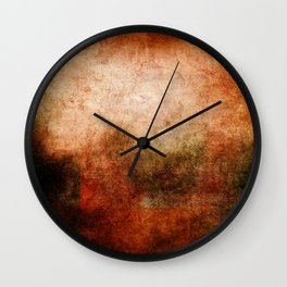 Abstract Cave II Wall Clock